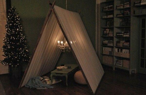 Led Kronleuchter Zelt ~ 19 spielerische diy zelte für kinder pinterest zelte