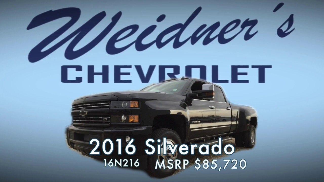 New 2016 Chevrolet Silverado 3500 Ltz Plus 1lt Crew Cab Long Box Blac Chevrolet Silverado Silverado 3500 Chevrolet