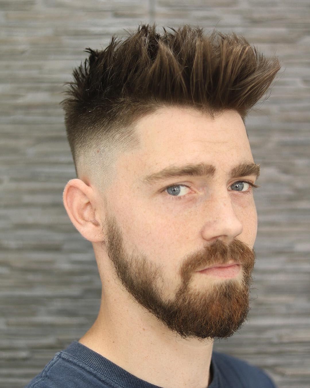 Hip fade spike mens hipster undercut in pinterest hair