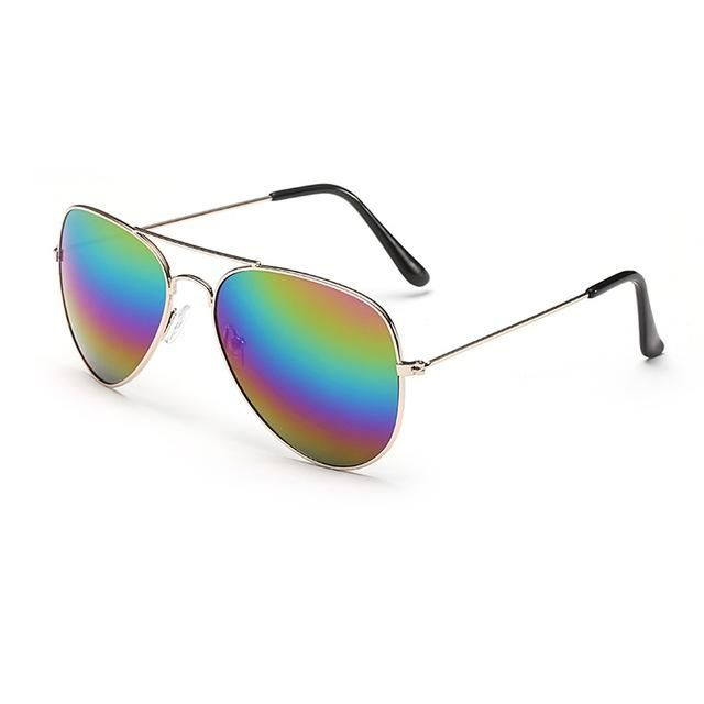 Brand Designer Oversized Pilot Oval Sunglasses Women Men