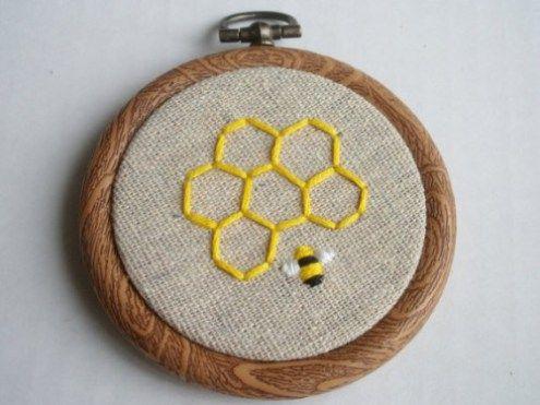 50 Sweetest Honey Bee Themed Wedding Ideas   Emmaline Bride – Embroidery ideas