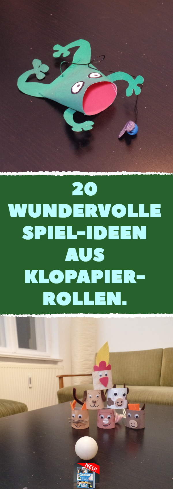 Photo of 20 tolle Spiel-Ideen aus Klopapierrollen