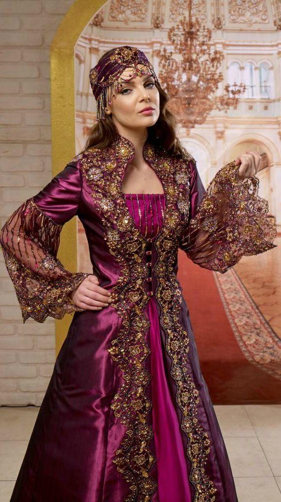 Tesettur Nisan Kina Elbisesi Moda Stilleri The Dress Ortacag Elbisesi