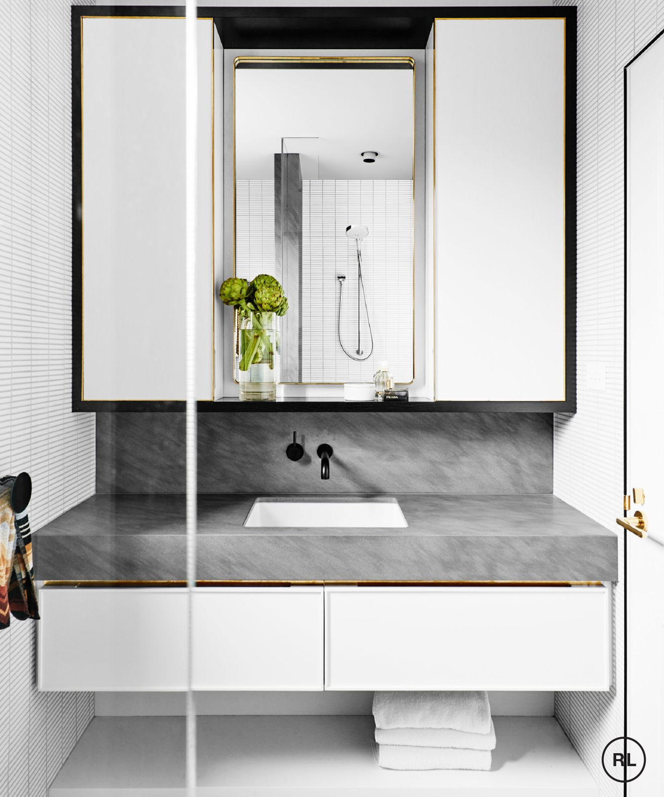 David flack is flack studio a melbourne based interior for Bathroom decor melbourne