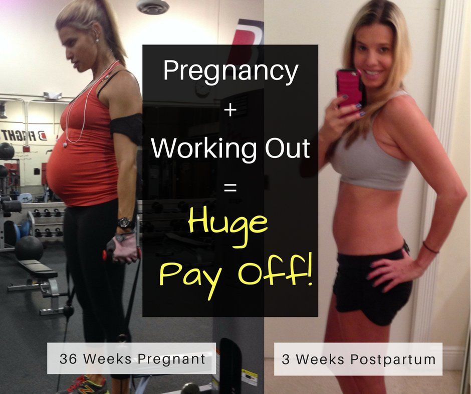 Can You Get In Shape While Pregnant Pin On Pregnancy Workouts Exercises