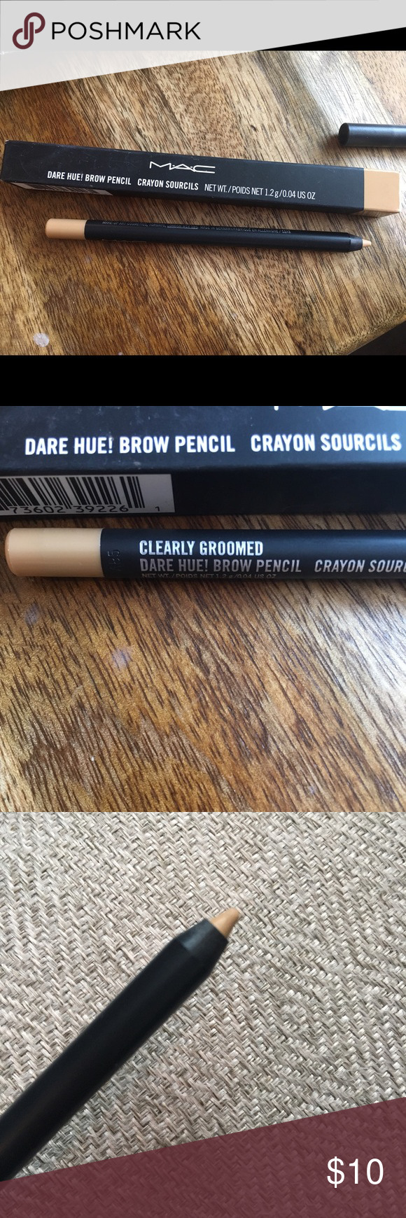 Mac Eyebrow Pencil Dare Hue Clearly Groomed Nwt My Posh Closet