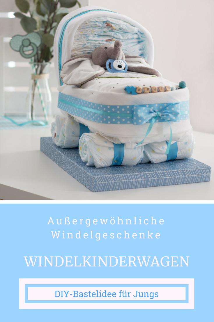 ausgefallenes geschenk zur geburt diy babygeschenk junge. Black Bedroom Furniture Sets. Home Design Ideas