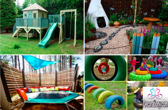 small garden ideas fir childrens | backyard | Pinterest | Small ...