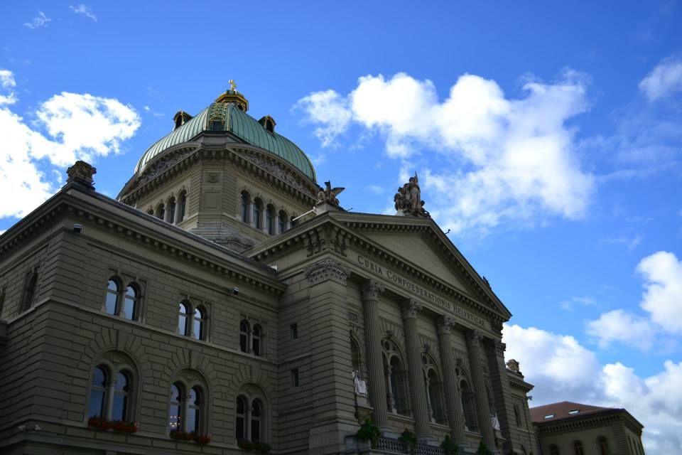 The Parliament Building, Bern Switzerland