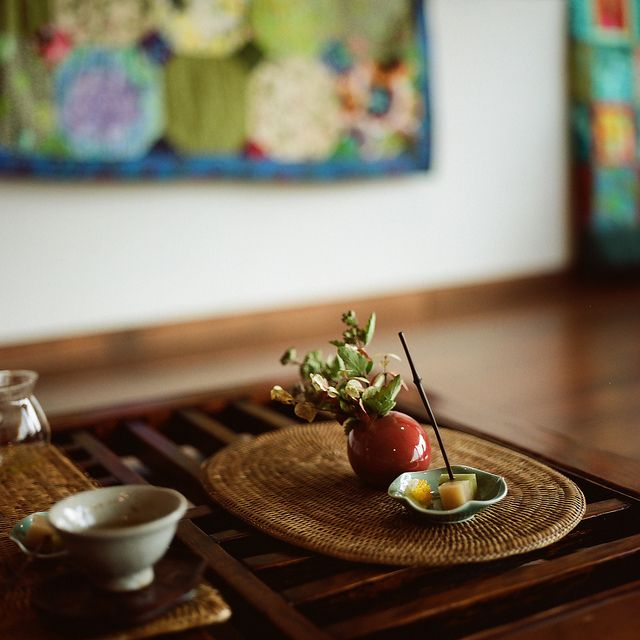 Tea food by childishToy*, via Flickr