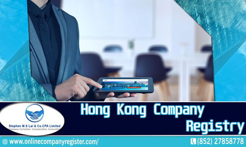 To Obtain Information About The Hong Kong Company Registry You