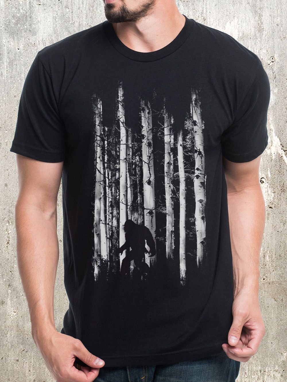 62af8b45 Bigfoot in the Forest in 2019 | Gifts | Men, Shirts, T shirt