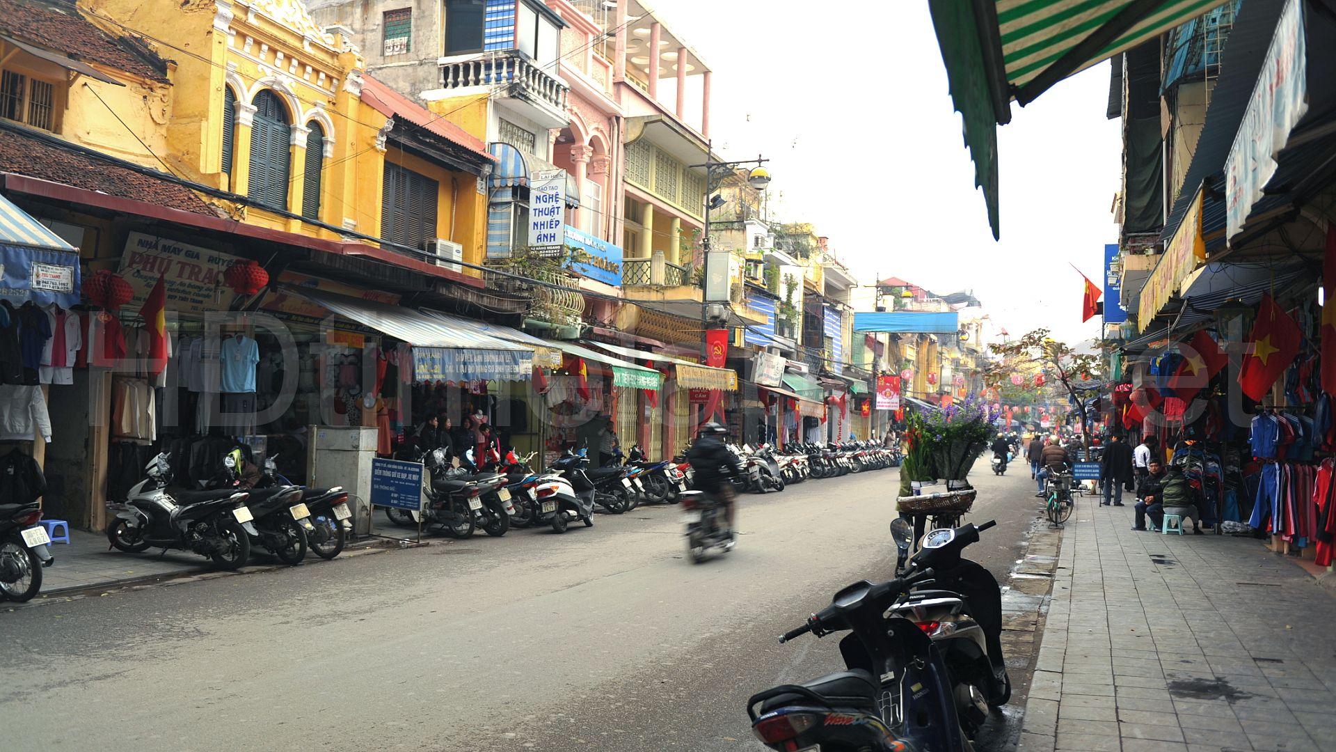 Hang Dao Street (Silk Street), Hanoi, Vietnam. | Street, Street view, Scenes