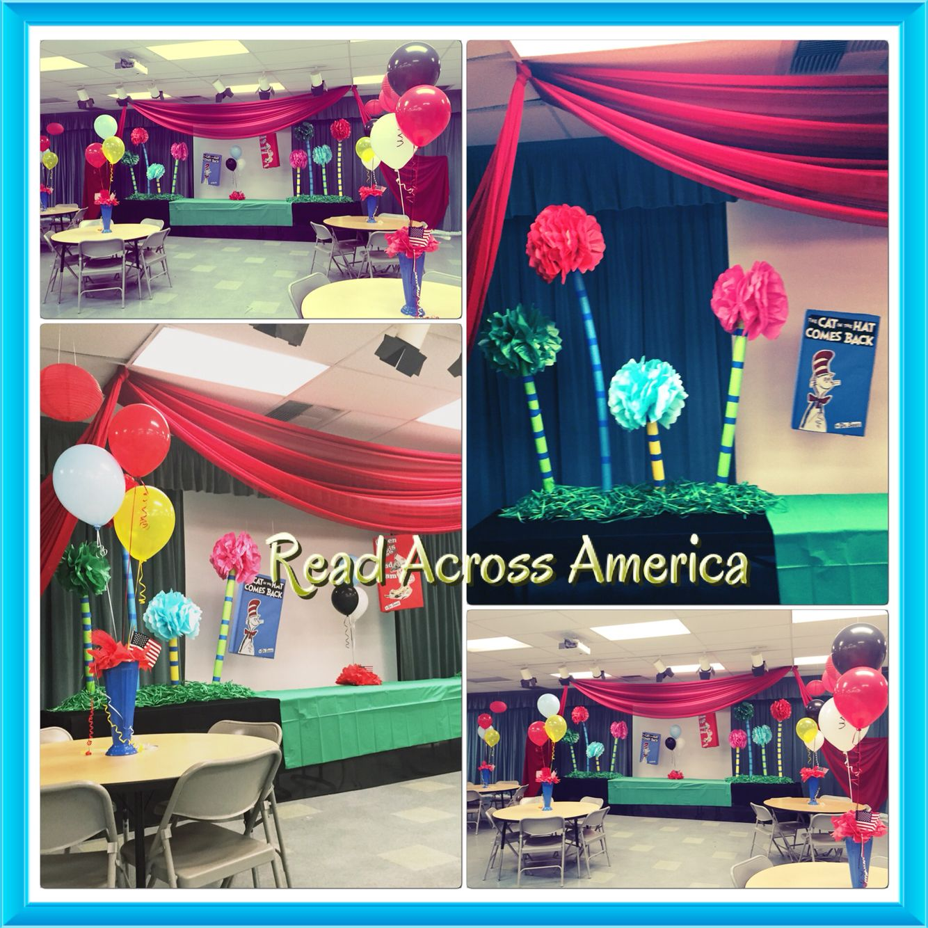 Prepping our stage for RAA week ! Los Altos school
