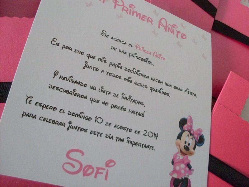 Baby Como Invitaciones Hacer Minnie De Mouse Para Shower