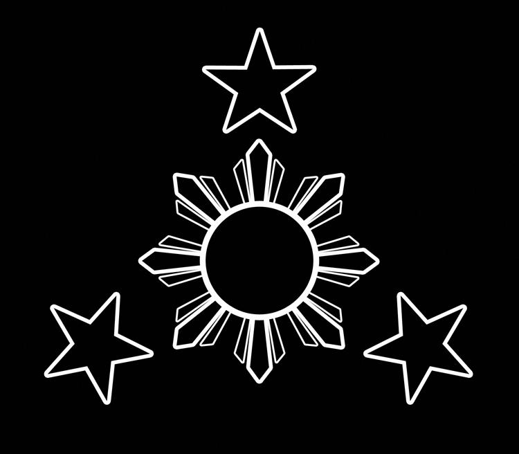 Filipino Tribal Sun Tattoos Designs Filipinotattoos Filipino Tattoos Philippine Flag Filipino Art