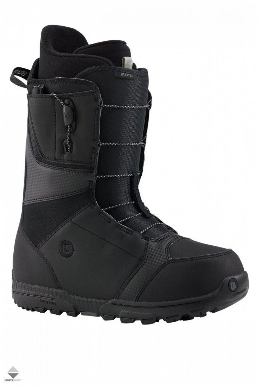 Buty Snowboardowe Burton Moto Black 10436101001 Burton Moto Boots Moto