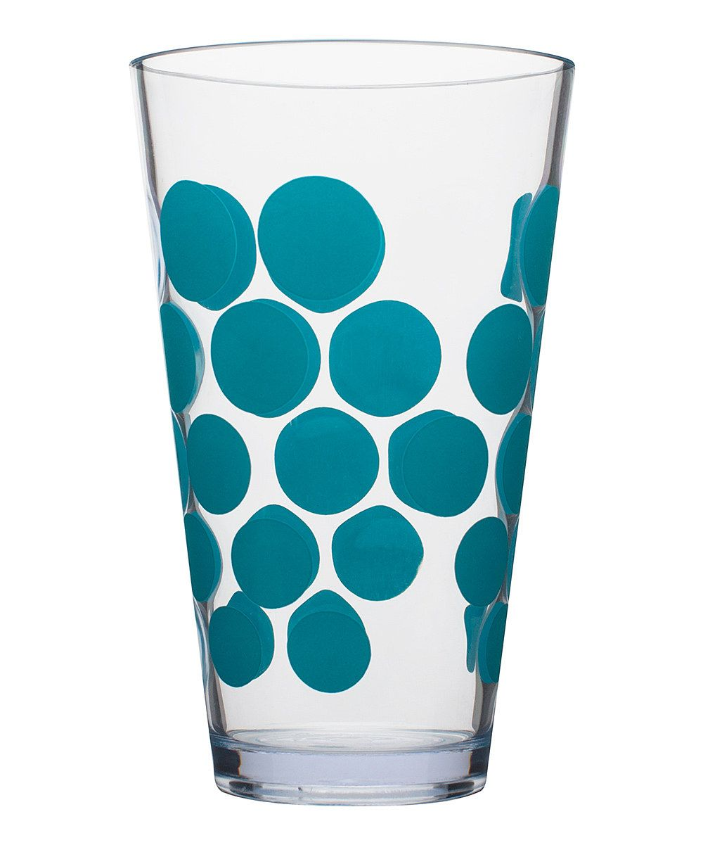 Look at this Azure Dot 19-Oz. Highball Tumbler - Set of Six on #zulily today!