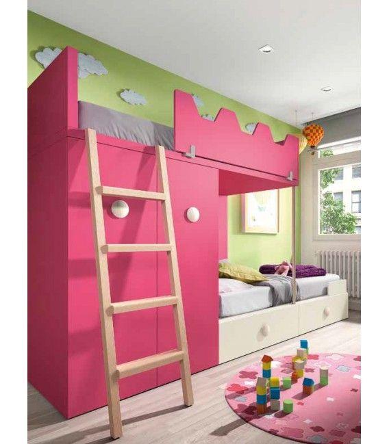 28005 en 2019 literas juveniles noel bed furniture y - Literas juveniles modernas ...