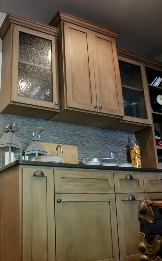 Wet Bar Done In Annie Sloan Chalk Paint, Annie Sloan Coco Kitchen Cabinets