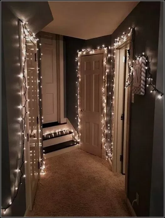 139+ decorative lighting ideas on the walls of your room