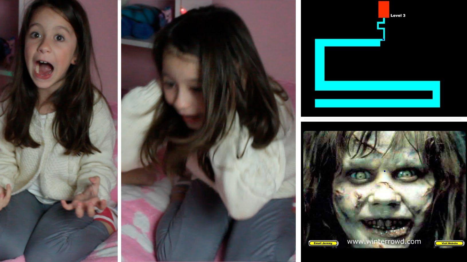 Hermana De 7 Años Se Asusta Jugando Al Laberinto Exorcista Alejo