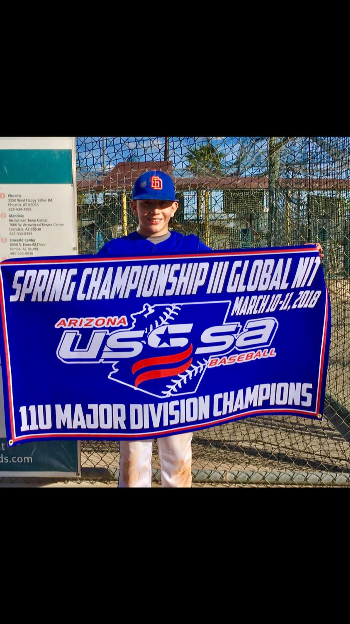 Diezel Hernandez San Diego Show Baseball Usssa 11u Major Division Gold Bracket Champions Champion Fallbrook Hernandez