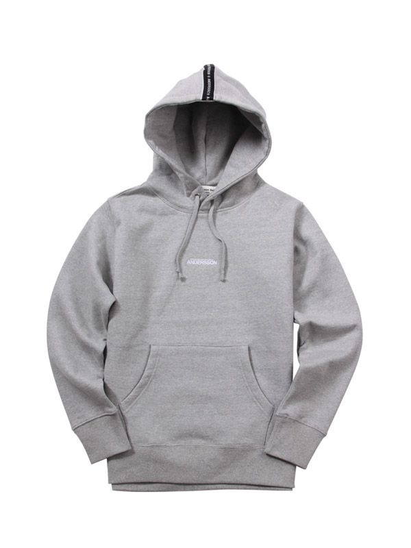 add7bf597 ANDERSSON BELL (UNISEX) Andersson Taping Hoodie atb046(Gray) | MEN ...