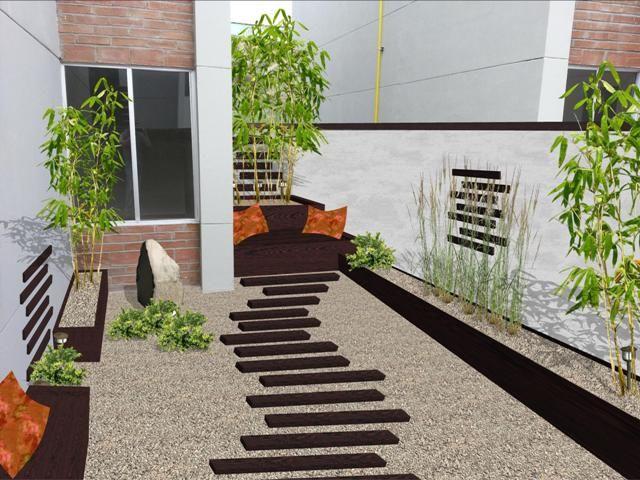 Dise o de patios buscar con google exteriores for Patios minimalistas modernos