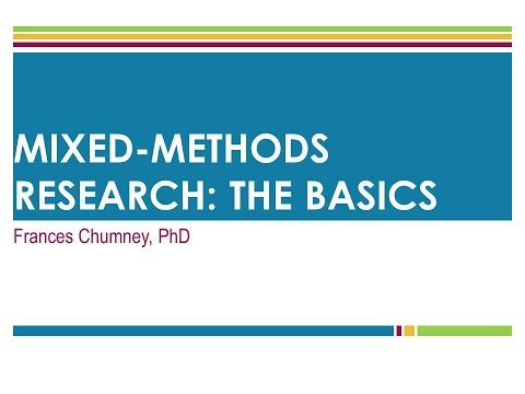 1 Mixed Method Research The Basic Youtube Dissertation Topics