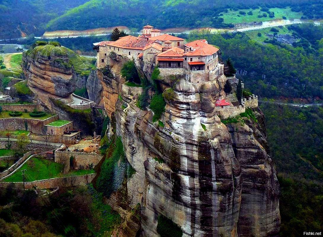 Монастырский комплекс Метеоры, Греция | Греция, Путешествия ...