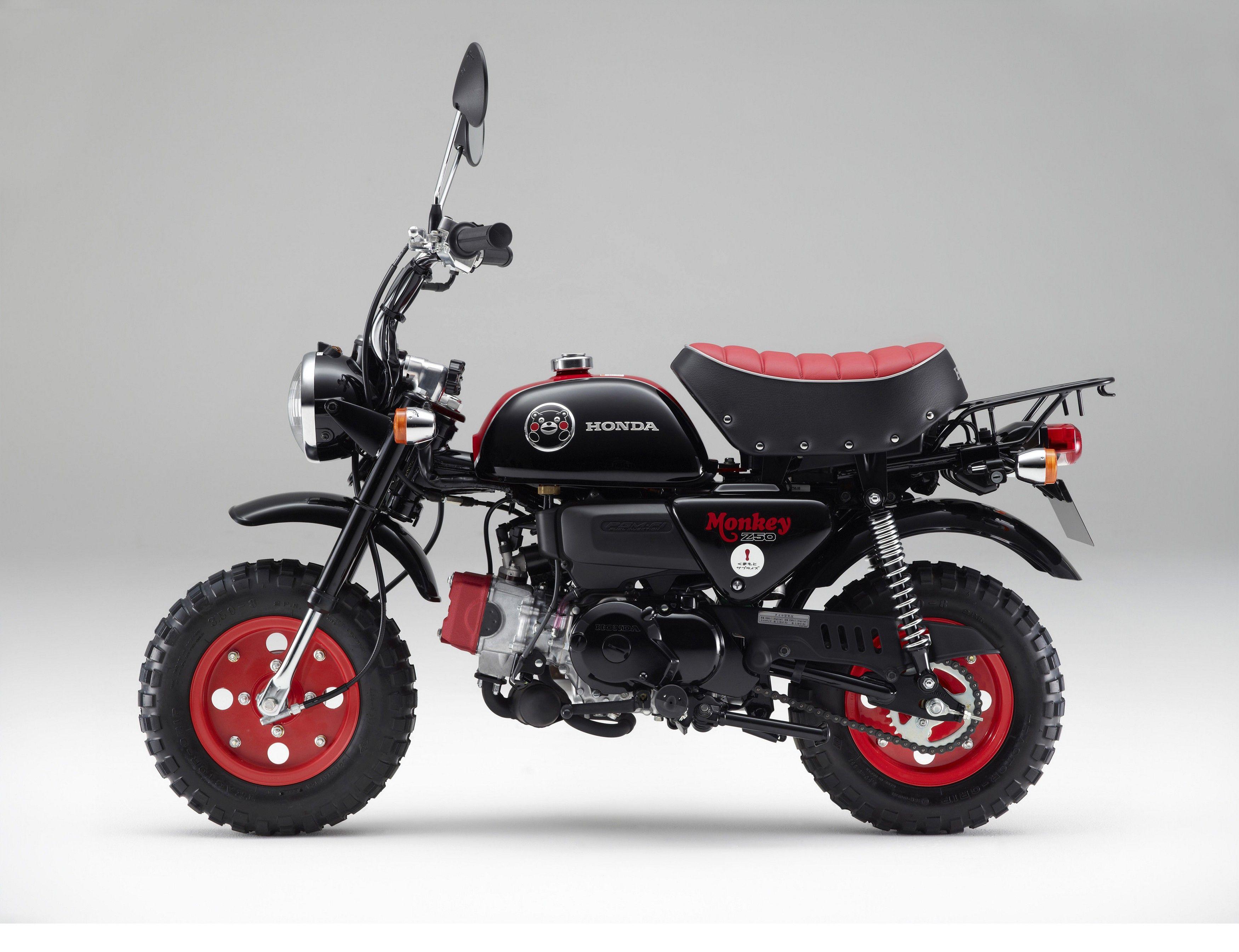 Honda Z50 Monkey Kumamon 03 2014 Pr Mini Bike Kids Bike Honda Motorcycles