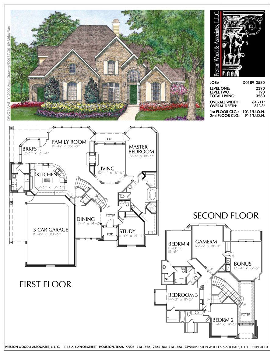 Two Story Home Plan D0189 New House Plans Sims House Plans Two Story House Plans