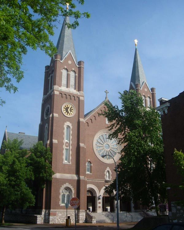 St Cecilia S Catholic Church St Louis Mo Built 1926 We Can