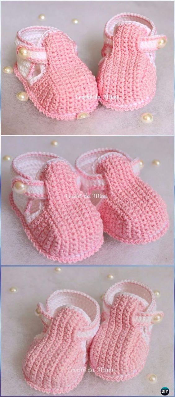 Crochet Locus Booties Free Pattern Video --Crochet Baby Booties ...