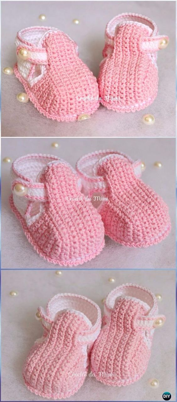 Crochet Baby Booties Slippers Free Patterns Crochet Free Pattern