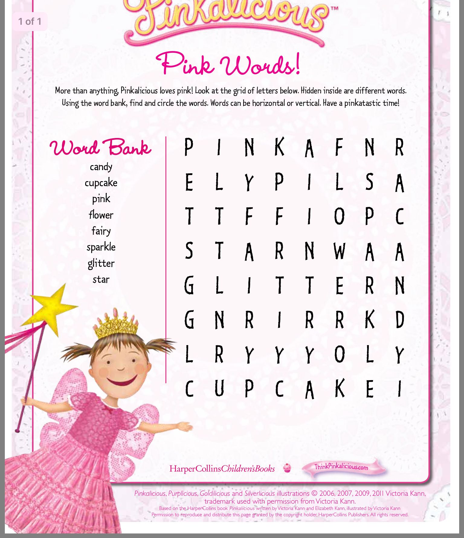 Pin By Lady T On Pinkalicious Pinkalicious Activities Pinkalicious Birthday Party Pinkalicious Party