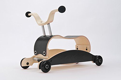 Wishbone Mini-Flip Mix & Match in Black - Baby Walker Tha...