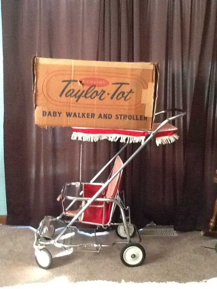 Old Baby Buggies Ebay Vintage 1960 1970 Taylor Tot Stroller W Box Great