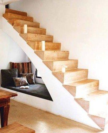 Under-stair nook