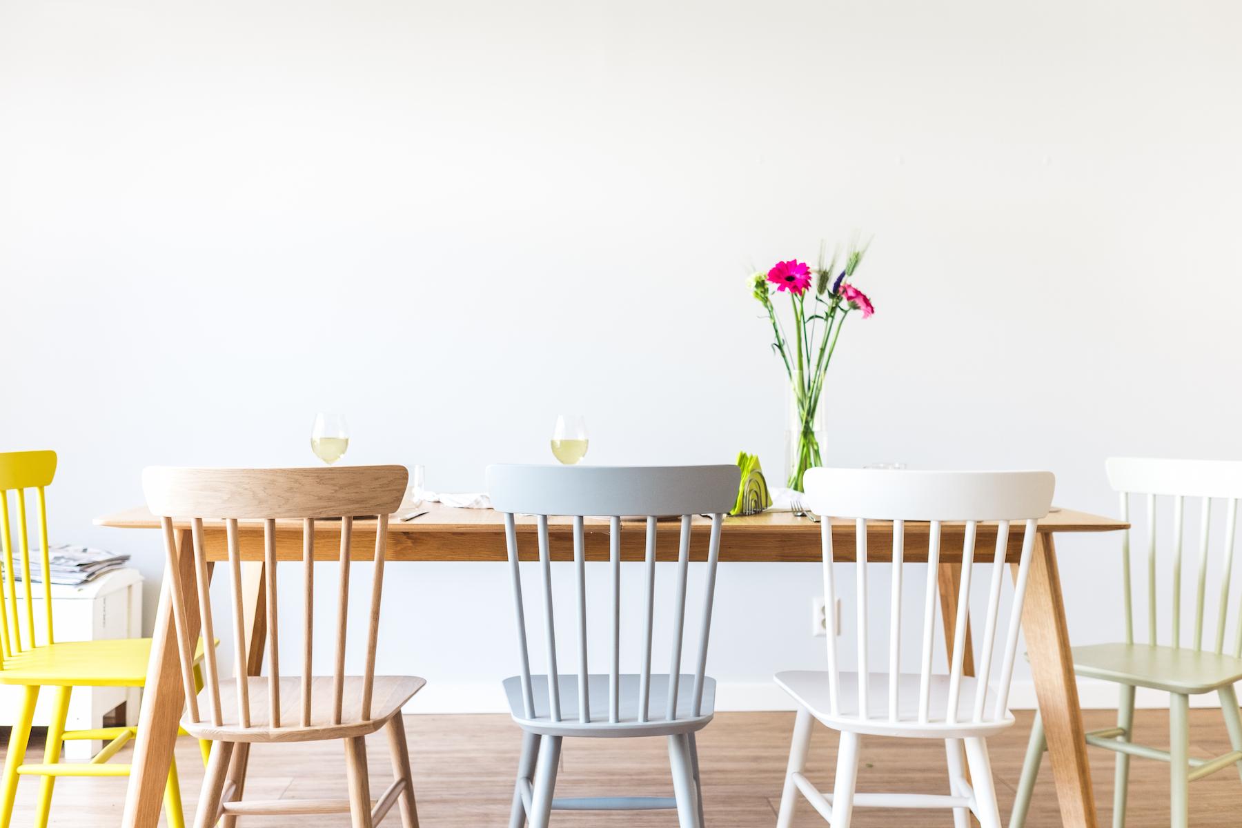 Vintage Stoelen Eettafel.Pippa Houten Spijlenstoel Home Decor In 2019