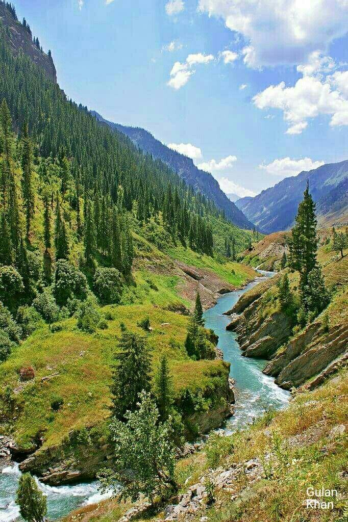 Beautiful River Qamri Astoor Neelum Valley Azad Kashmir Pakistan Nature Beautiful Nature Scenery
