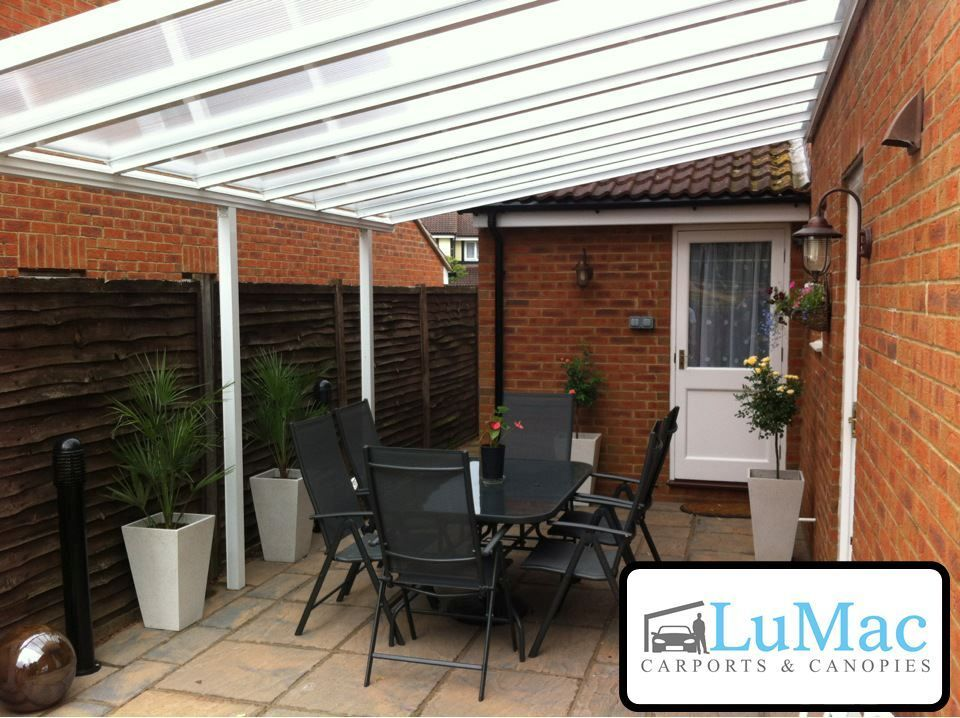 Lean To Canopies : Waterproof patio canopy garden cover shelter lean to