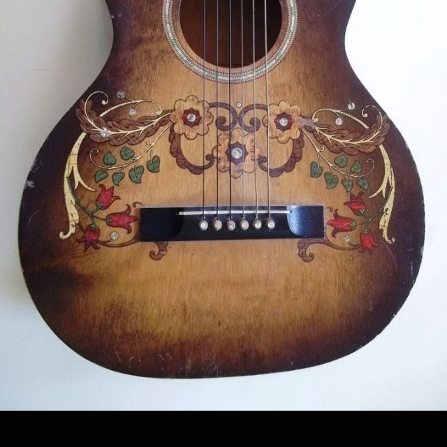 Guitar Art We Definitely Like Guitar Art Guitar Stella Art