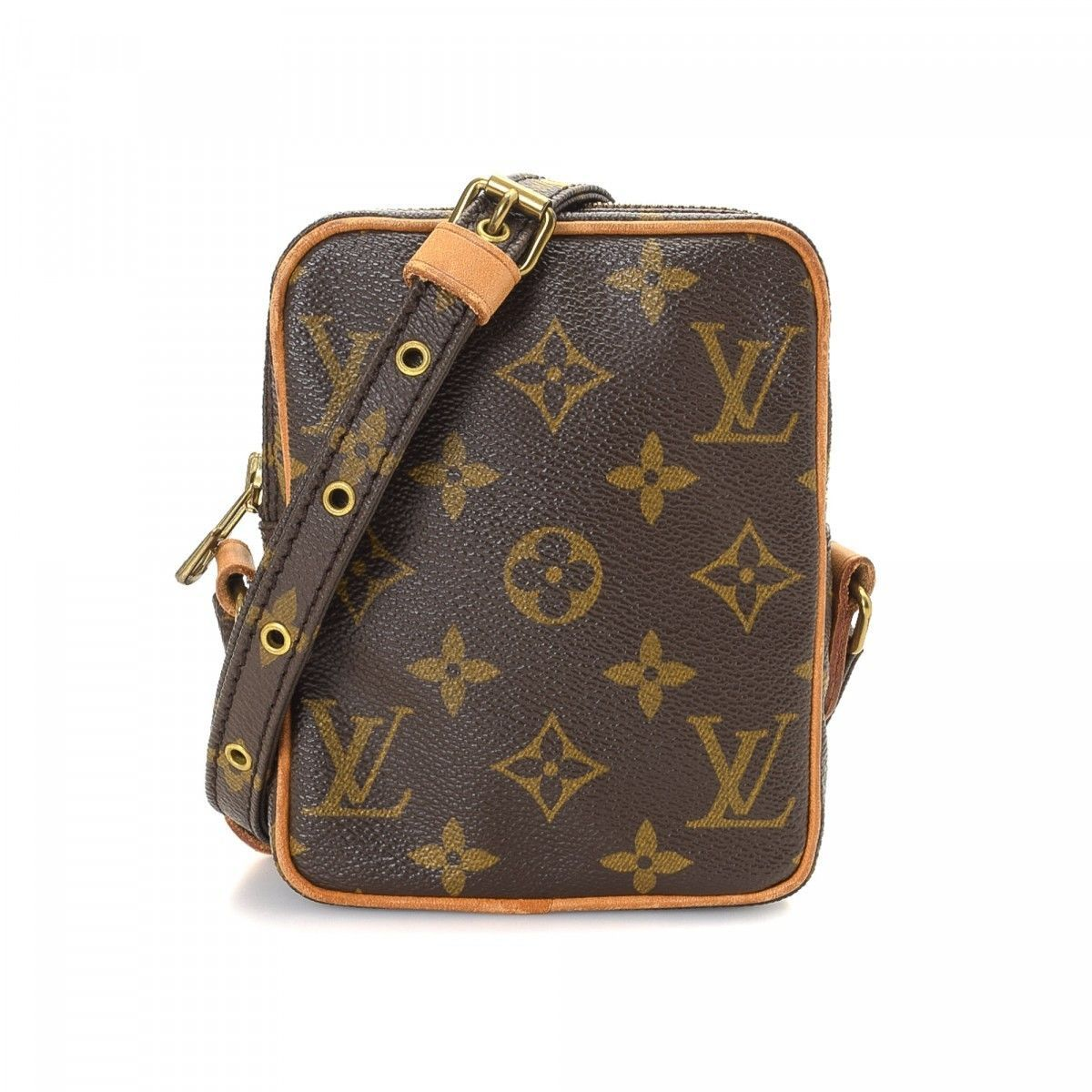 Louis Vuitton Mini Danube Monogram Coated Canvas - LXRandCo - Pre-Owned  Luxury Vintage e45c4481e5e50