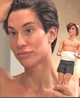 Bilderesultat for human ken with doll ken
