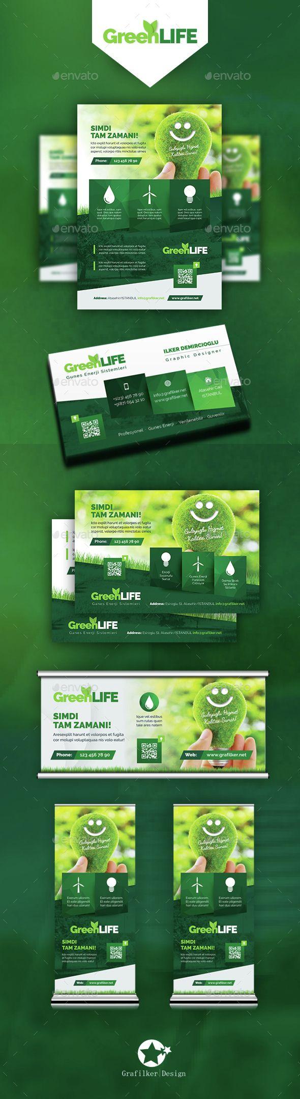 Green Energy Bundle Templates   Diseño editorial, Editorial y Artes ...