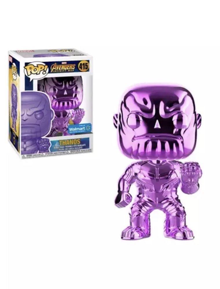 Thanos Red Chrome Pop FunKo Free Shipping! Avengers 3: Infinity War Vinyl
