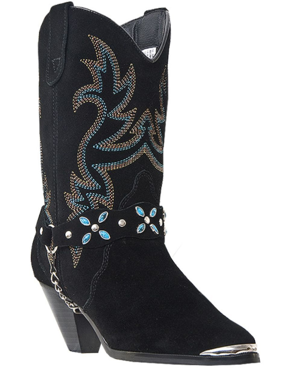 Dingo Wo's Victoria Boot - Black | These Boots Are Made for ...