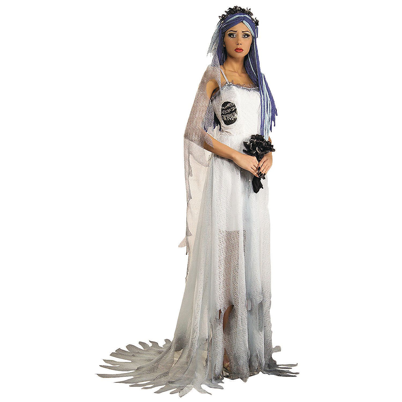 Corpse Bride Deluxe Adult Women\'s Costume - OrientalTrading.com ...